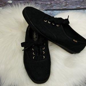 Keds Black Lace Sneaker